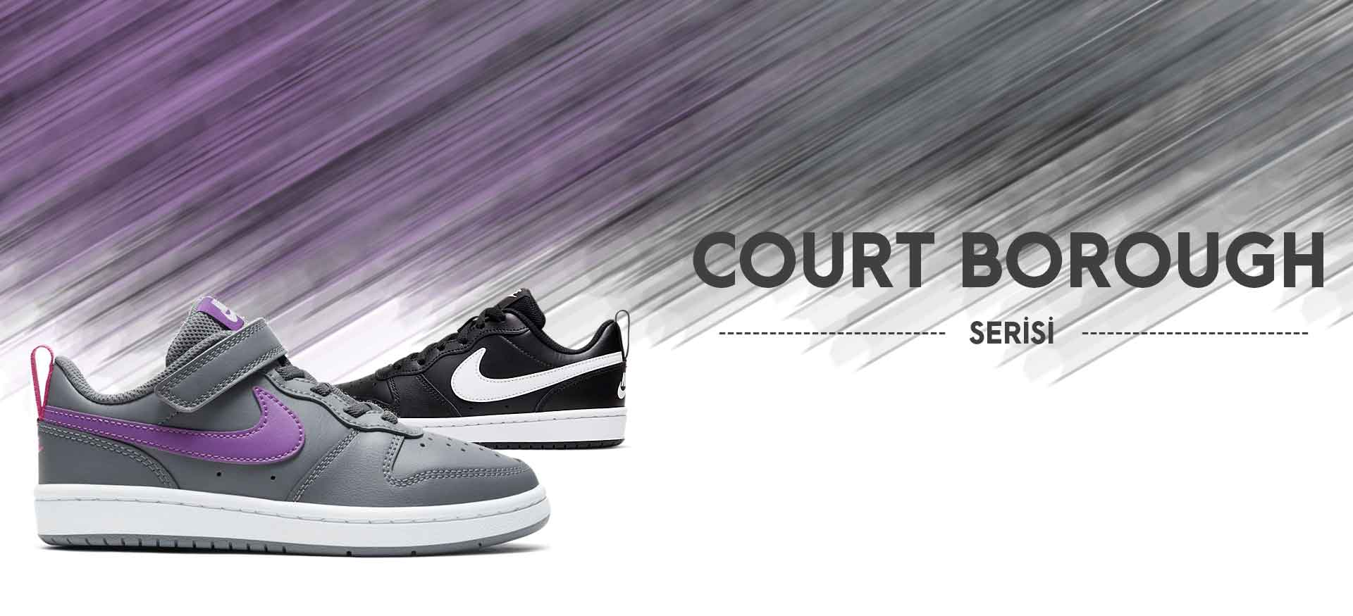 Nike Court Borough Modelleri